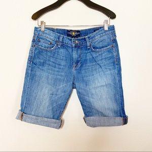 Lucky Brand sweet n' low Bermuda cut off shorts